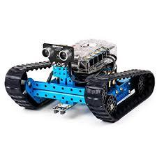 la cursurile de robotica pentru copii se foloseste robotul mBot Ranger