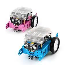 la cursurile de robotica pentru copii se foloseste robotul mbot